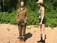 military lesbian femdom