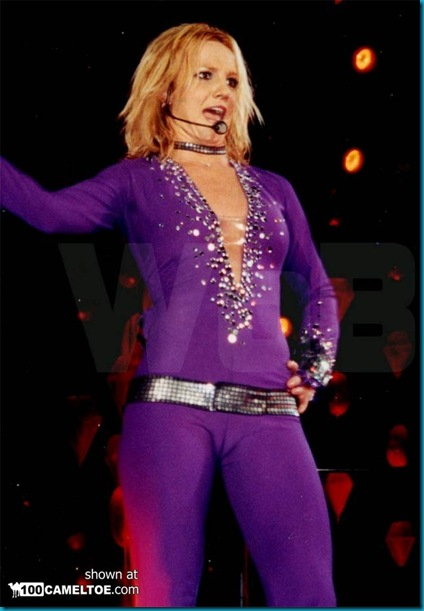 Britney Spears camel toe